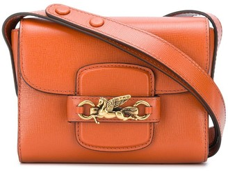 Etro Mini Logo Plaque Cross Body Bag