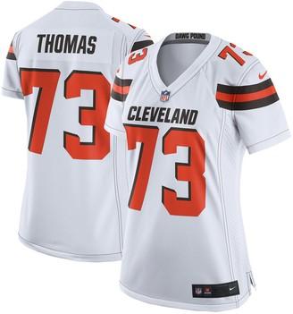 Nike Women's Joe Thomas White Cleveland Browns Game Jersey