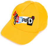 DSQUARED2 logo embroidered cap