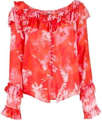 Pinko Floral Print Blouse