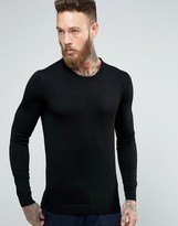 Selected Merino Wool Crew Neck Sweater