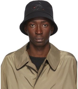 Random Identities Black Canvas Bucket Hat