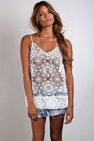Nightcap Clothing Crochet Camisole in White