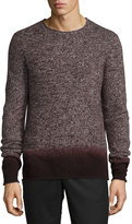 Vince Cashmere-Blend Ombré Sweater, Merlot