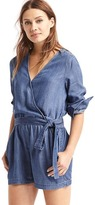 Gap Tencel® wrap romper