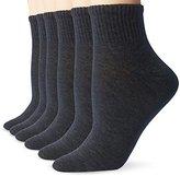 Hanes Women's 6 Pack Lightweight Comfort Blend Ankle