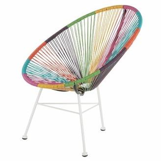 Joseph Allen Maya Acapulco Woven Basket Lounge Chair