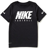 Nike Big Boys 8-20 Dri-FIT Short-Sleeve Football Tee