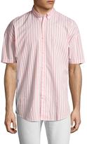 Zanerobe Striped Rugger Cotton Sportshirt