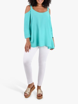 Live Unlimited Curve Cold Shoulder Top