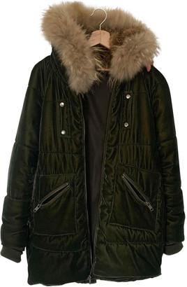 Bel Air Green Velvet Coats