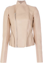 Rick Owens Lilies structured leather jacket
