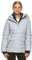 Free Country Women's Printed Faux-Fur Down Jacket