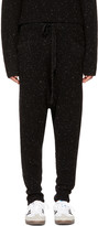 Baja East Black Cashmere Lounge Pants