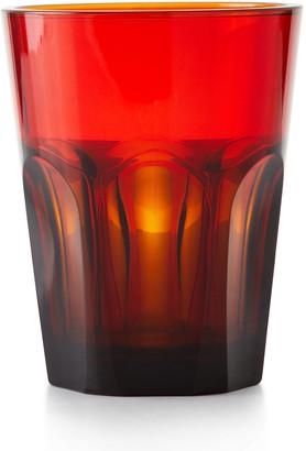 N. Double Face Acrylic Tumbler Glass