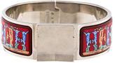 Hermes Wide Enamel Loquet Bracelet