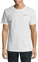 G Star G-Star Lyon Jersey Scribble Camo T-Shirt, White