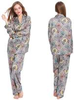 LILYSILK Silk Women Pajamas Set with Floral Printing- S