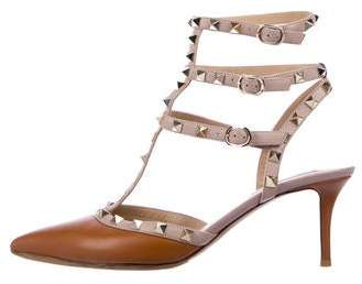 179525410ad Leather Rockstud Sandals