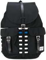 Herschel colour block striped backpack