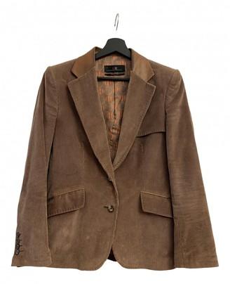 Carolina Herrera Brown Velvet Jacket for Women