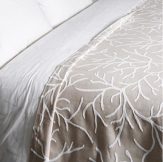 Belle Epoque Glory Coverlet - Taupe Twin