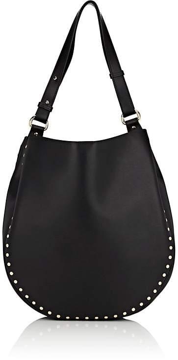Barneys New York Women's Studded Hobo Bag