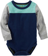 Osh Kosh Oshkosh Blue Colorblock Tee - Baby Boys newborn-24m