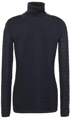 M Missoni Ribbed Wool-blend Turtleneck Sweater