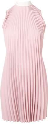 RED Valentino Pleated Short Dress