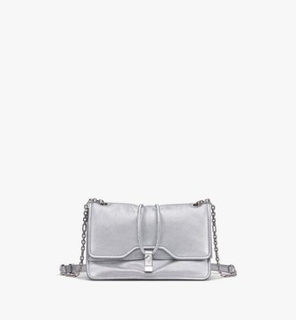 MCM Candy Shoulder Bag in Metallic Goat Leather