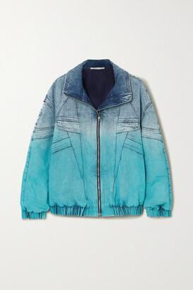 Stella McCartney - Ombre Denim Jacket - Blue