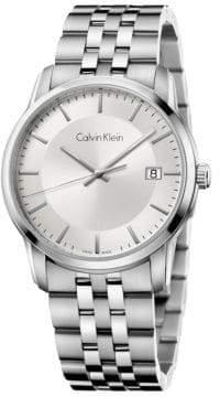 Calvin Klein Infinite Stainless Steel Bracelet Watch, K5S31146