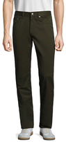 Brooks Brothers Cotton Flat Front Straight Chino