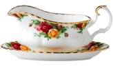 "Royal Albert Old Country Roses 6"" Gravy Boat Stand"
