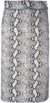 adidas x HYKE python print skirt