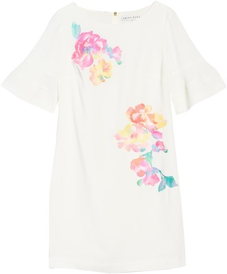 Trina Turk Sojourn Watercolor Floral Dress