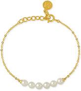 Majorica Imitation Pearl Link Bracelet