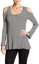 Karen Kane Cold Shoulder Shirt