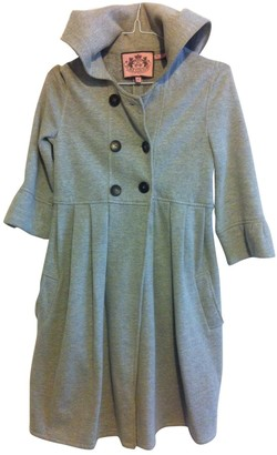 Juicy Couture Grey Cotton Coat for Women
