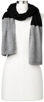 Gap Merino wool blend colorblock scarf