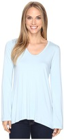 Karen Kane Flare Sleeve Hi-Lo Top Women's Clothing