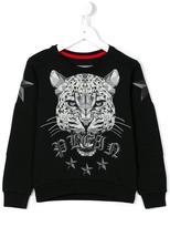 Philipp Plein tiger print sweatshirt