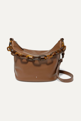 Gu_de Leather Shoulder Bag - Brown