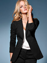 Victoria's Secret Long & Lean One-button Jacket in Stretch Cotton