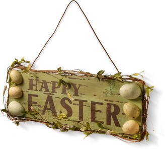 National Tree Company Happy Easter Sign