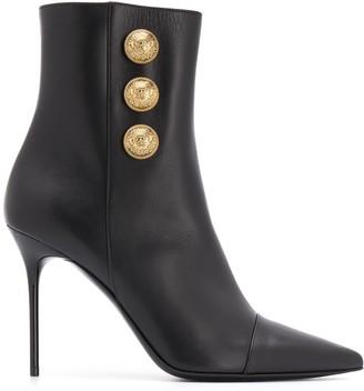 Balmain Stiletto Ankle Boot