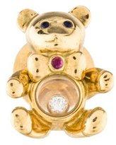 Chopard Gemstone Teddy Bear Brooch