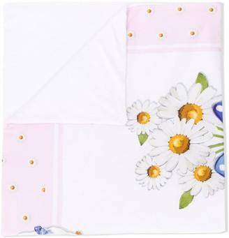 MonnaLisa Printed Baby Blanket