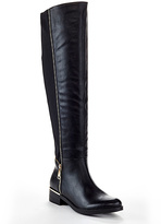 Black Mindy Over-the-Knee Boot